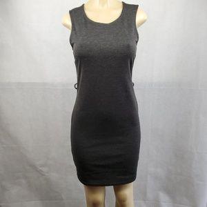 Derek Heart Gray Sleeveless Bodycon Dress Size M